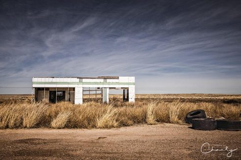 Glenrio Abandoned Gas Station © Imagery by Charly™ | All Rights Reserved