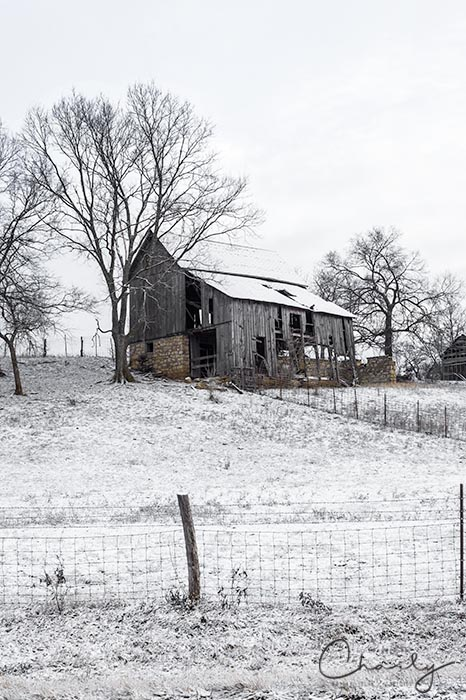 Abandoned Barn in Winter © Imagery by Charly™ | All Rights Reserved