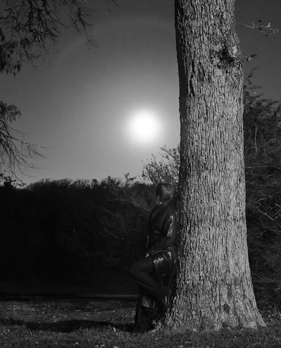 Award winning photographer Charly McConnell on a full moon night