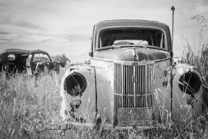 British Ford Prefect Awaiting Restoration © Imagery by Charly™   All Rights Reserved