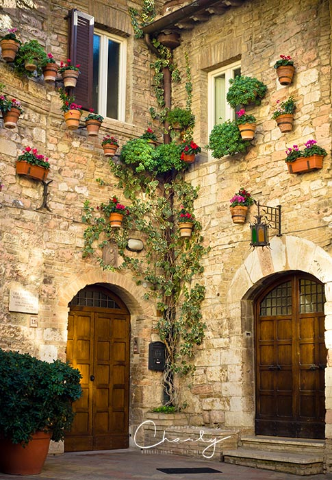 Corner of Assisi © Imagery by Charly™   All Rights Reserved