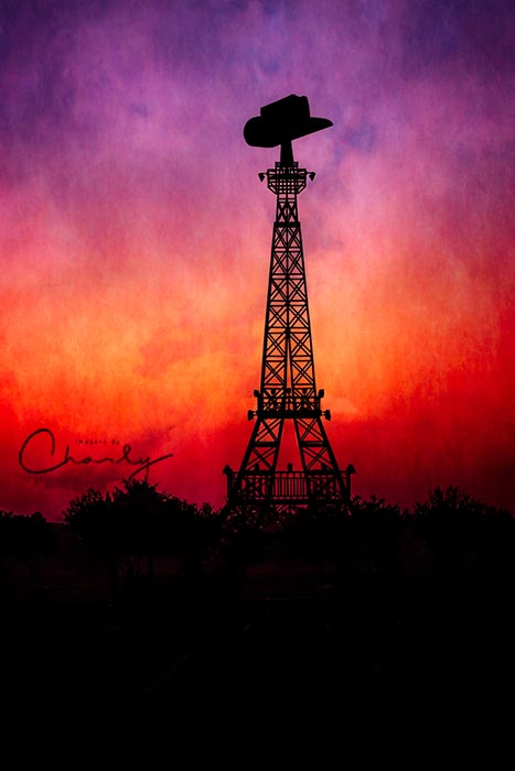 Eiffel Tower of Paris, Texas © Imagery by Charly™ | All Rights Reserved