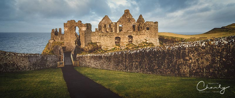 Dunluce Castle Panorama © Imagery by Charly™ | All Rights Reserved