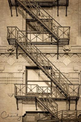 Flatiron Fire Escape © Imagery by Charly™ | All Rights Reserved