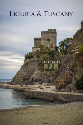 Liguria and Tuscany Regions © Prints of Italy™ | All Rights Reserved