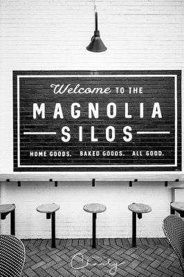 Outdoor seating at the Magnolia Silos baking company © Imagery by Charly™ | All Rights Reserved