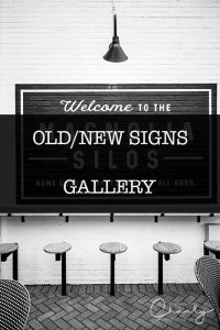 Old and New Signs © Imagery by Charly™   All Rights Reserved