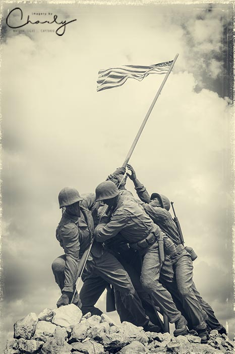 Iwo Jima Monument © Imagery by Charly™   All Rights Reserved