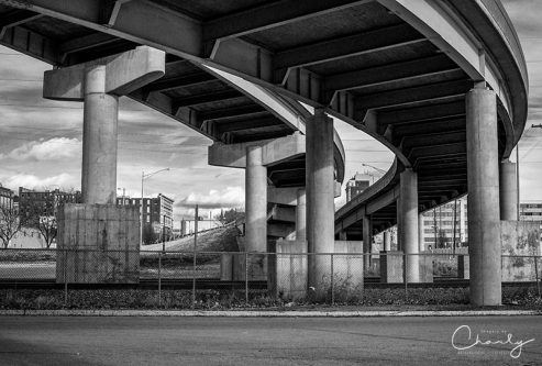 Overpasses Above Tracks © Imagery by Charly   All Rights Reserved