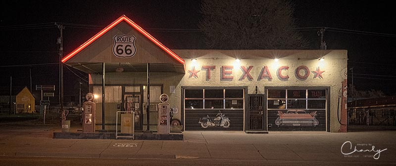 Route 66 Texaco © Imagery by Charly™ | All Rights Reserved